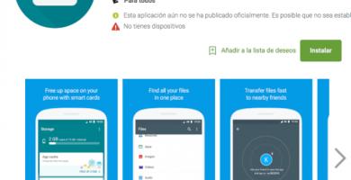 """Google lanza la aplicación """"Files Go"""" (BETA) en la Play Store para el manejo de archivos"""